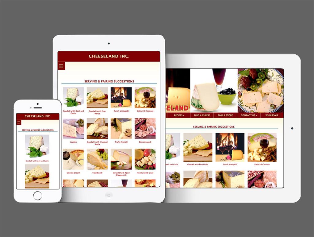 Cheeseland Website