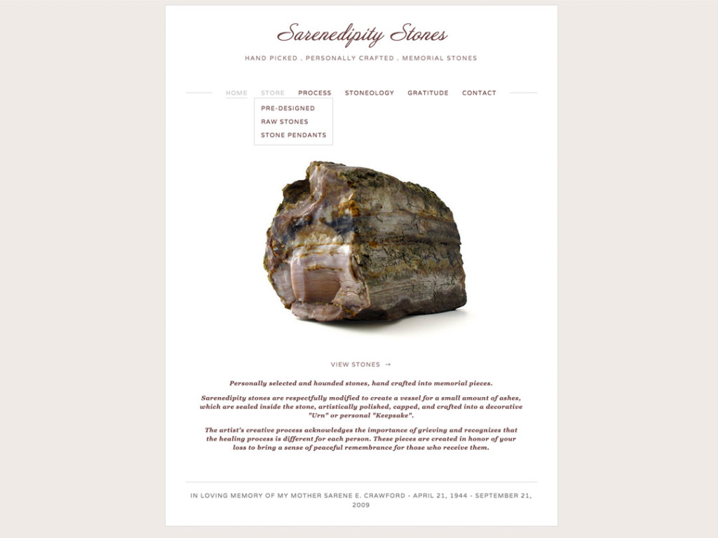 Sarenedipity Website