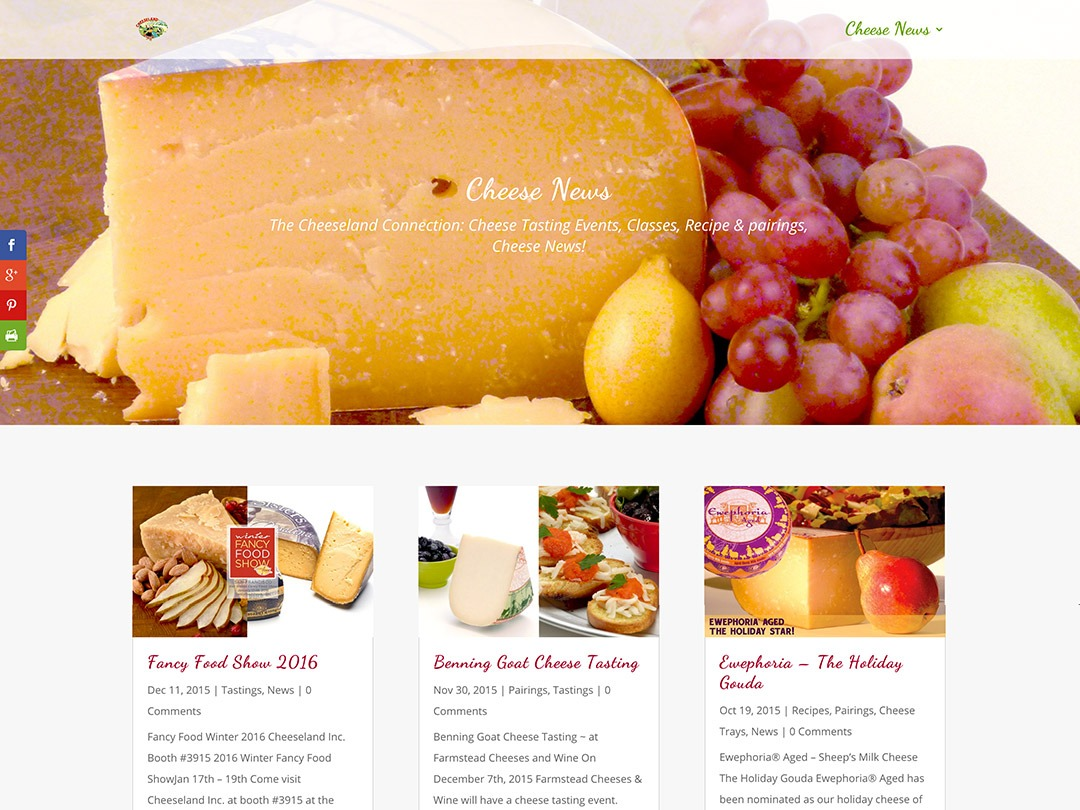 Cheese News Blog