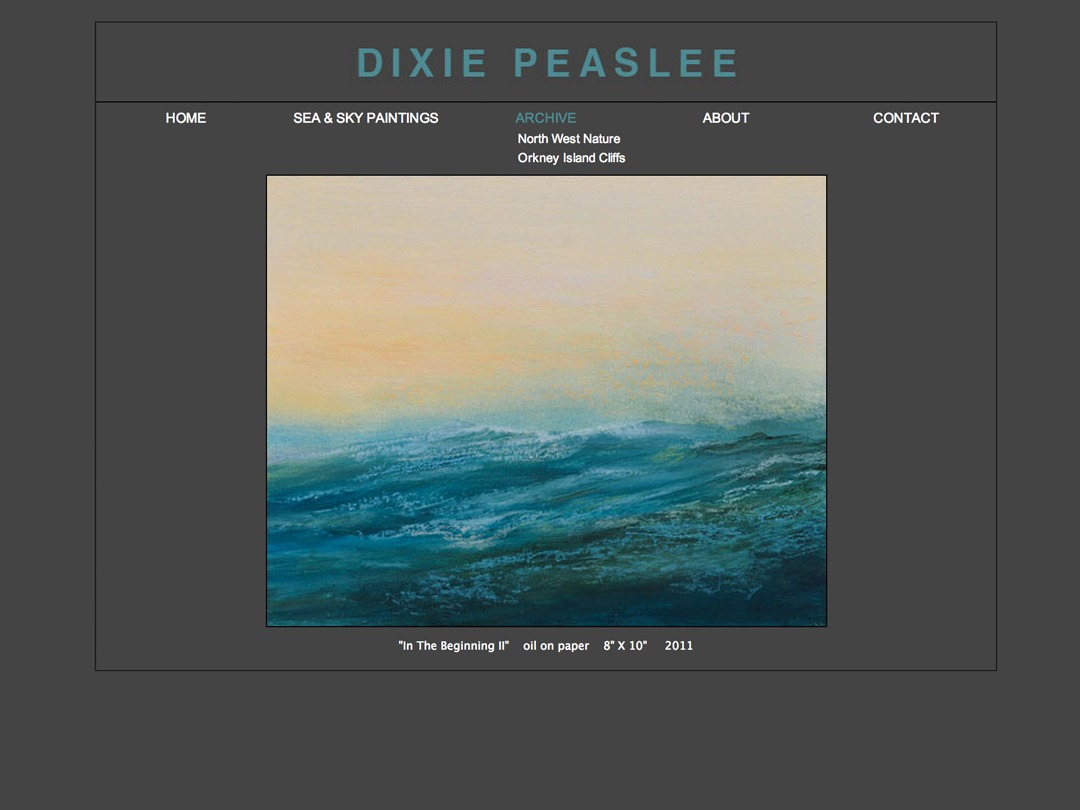 dixie peaslee painting website
