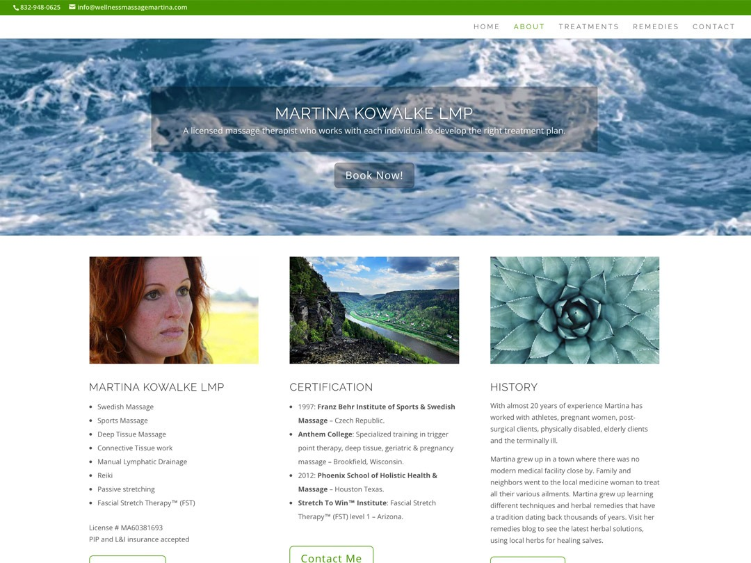 Martina Kowalke Web Design