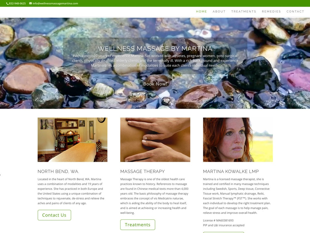 Martina Kowalke Web Design