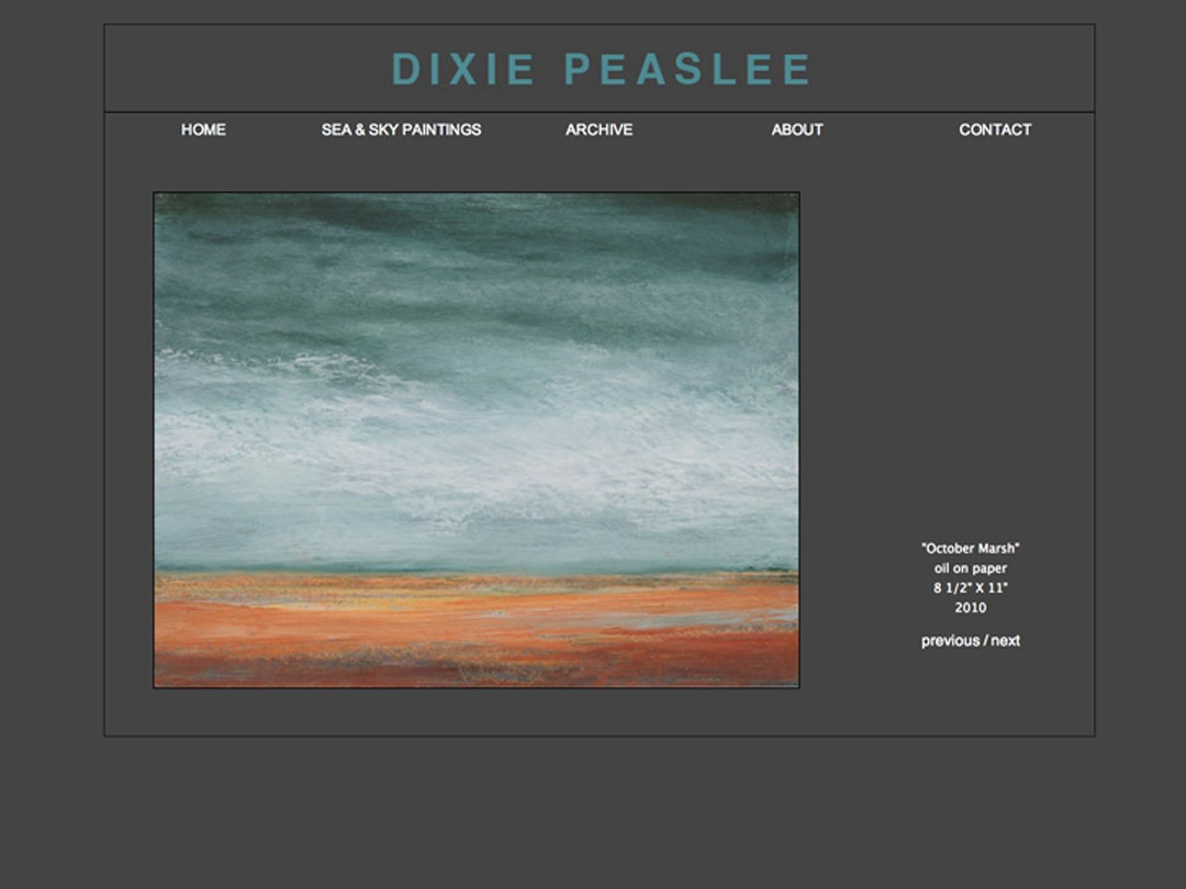 D. Peaselee Sunset Painting
